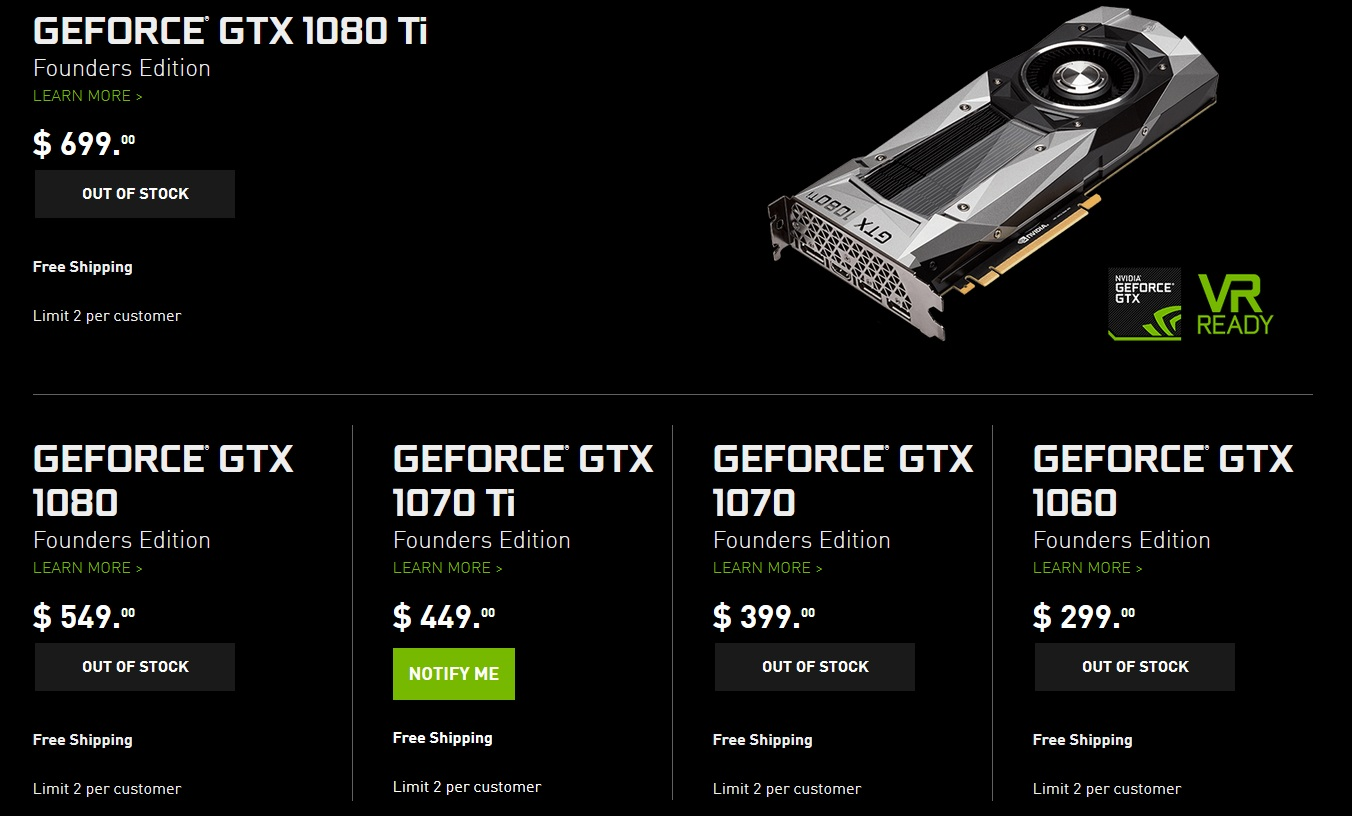 NVIDIA Asks Retailers To Stop Selling To Miners & Sell To