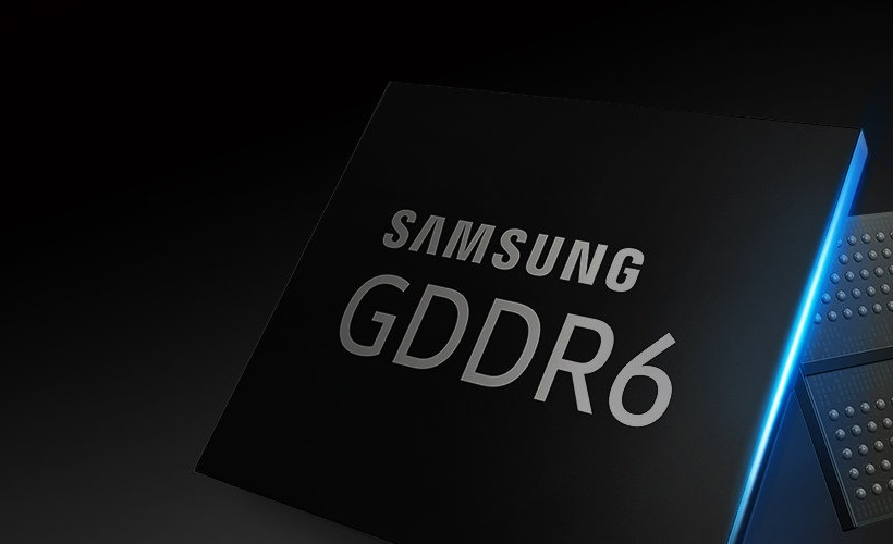 Samsung Announce Mass Production Of World's First 16-Gigabit GDDR6 Memory Module