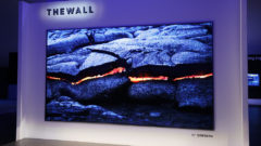 Samsung Unleashes 'The Wall' - A Humongous 146-Inch Modular MicroLED TV