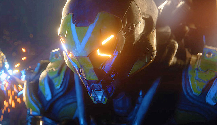 Anthem Stream Shows Off Ranger Javelin Legendary Contracts