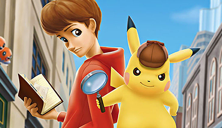 Detective Pikachu Is Coming West Along With A Super Sized Amiibo
