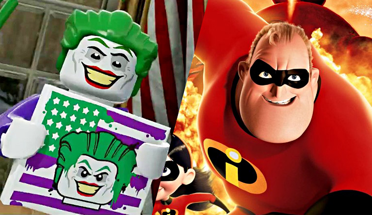 Lego Incredibles 2 and Lego DC Villains Rumored to Coming This Year