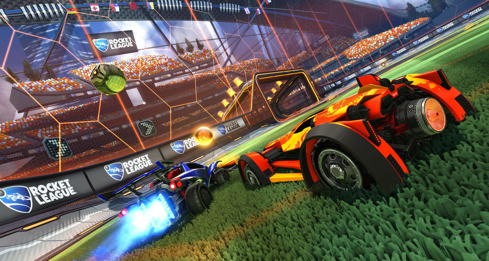 rocket league to get xbox one x support in late 2018. Black Bedroom Furniture Sets. Home Design Ideas