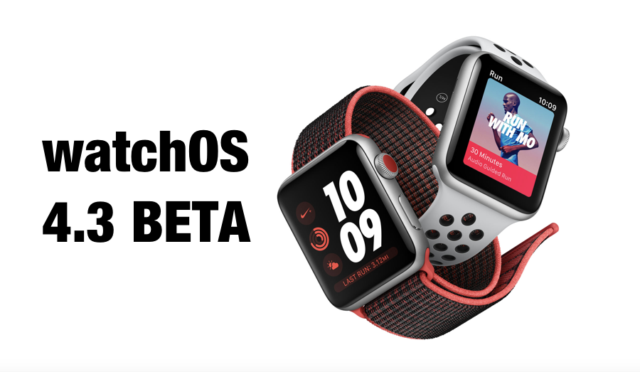 WatchOS 4.3 Released