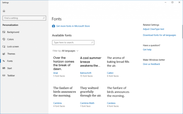 windows-10-fonts
