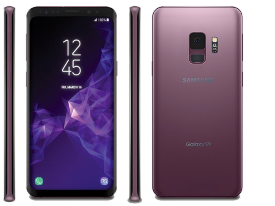 Samsung Galaxy S9, Galaxy S9+ Leaked In Lilac Purple Colour