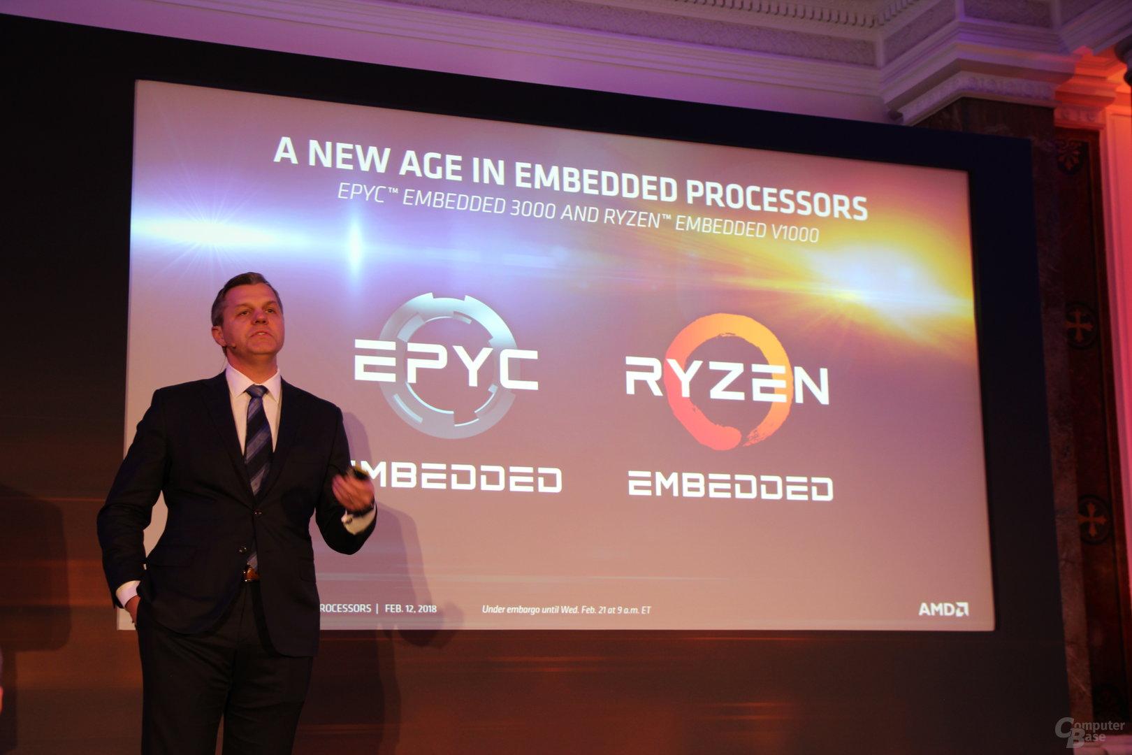 AMD Intros EPYC 3000 Series Embedded Processors - 2 7x