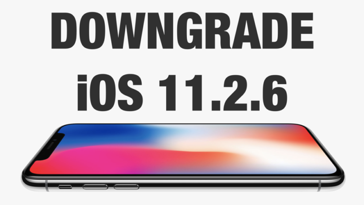 Downgrade iOS 11.2.6