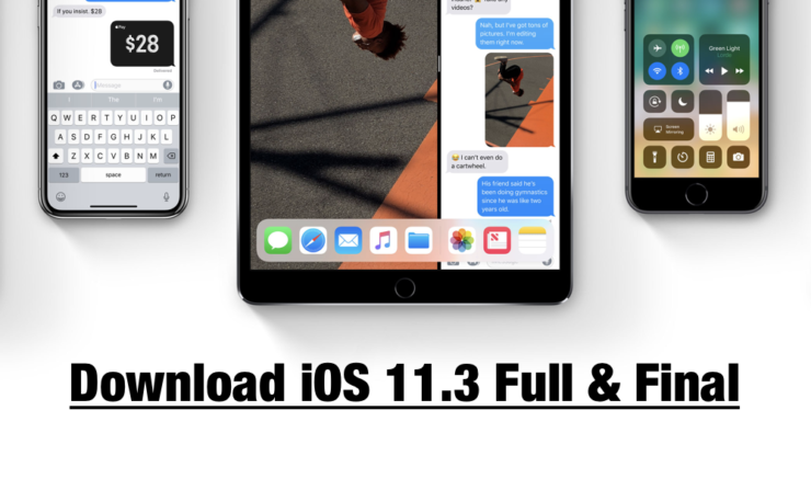 Download iOS 11.3