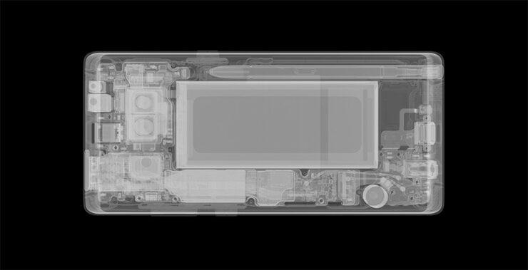 Galaxy Note 9 no in display fingerprint reader