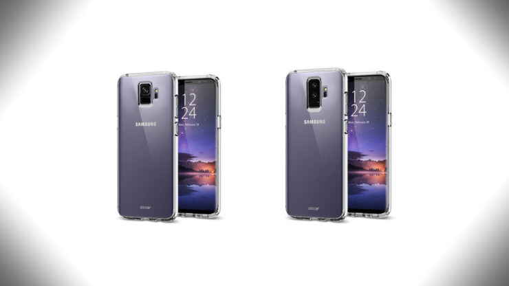 Galaxy S9 lilac purple color leak