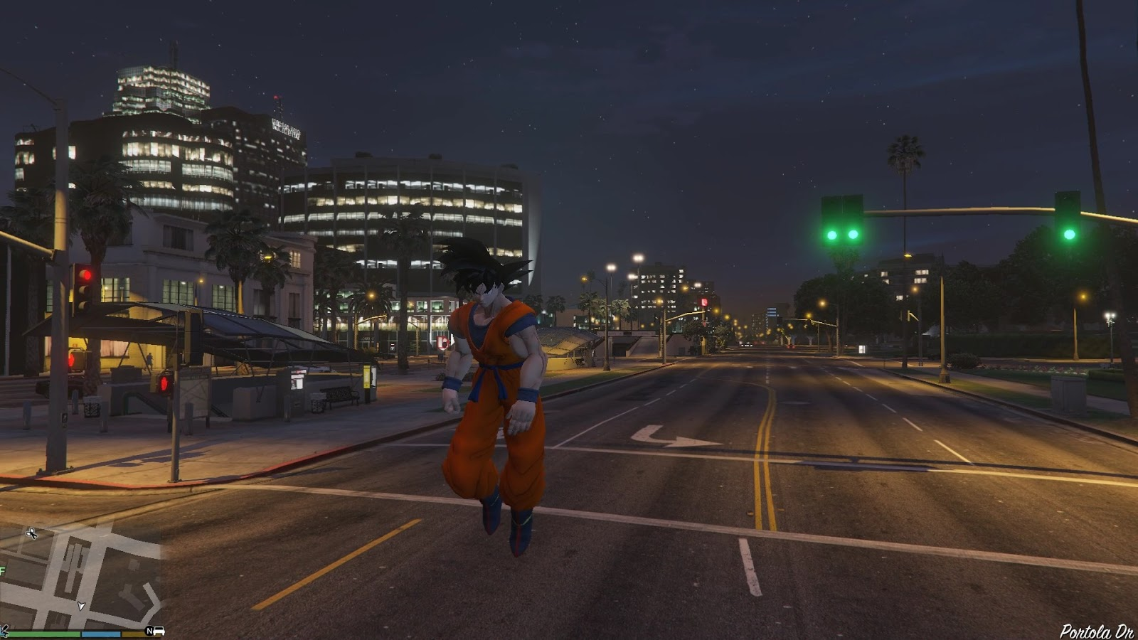 Grand Theft Auto V Dragon Ball Mod Allows Players To Control