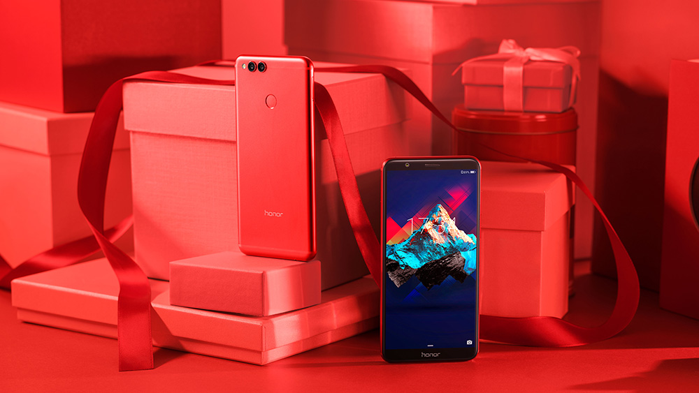 Huawei Honor 7X Valentines Day sale