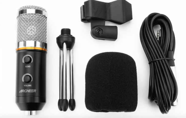 archeer usb microphone deal