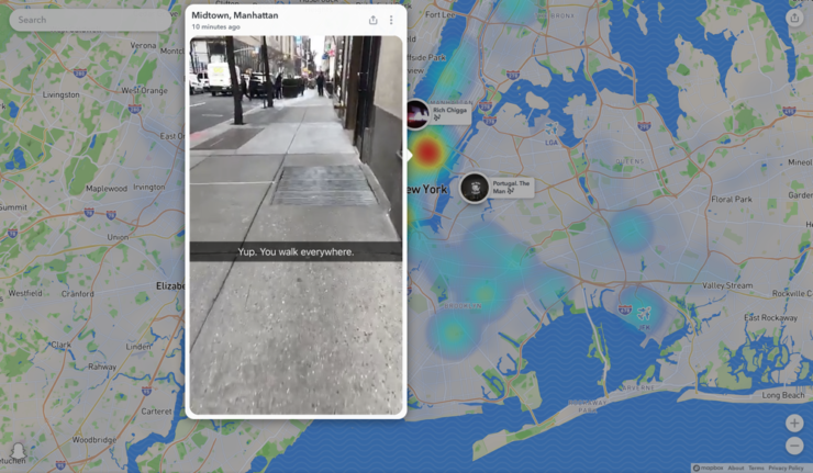 How to View Snapchat's 'Snap Map' on the Web