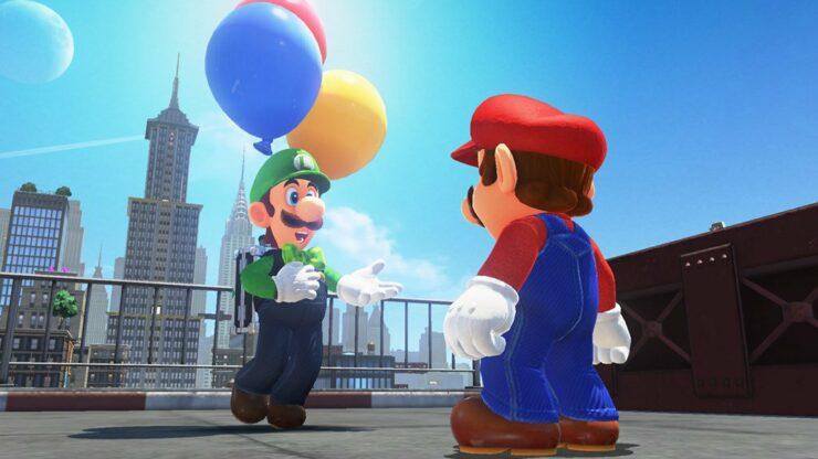 Super Mario Odyssey update 1.2.0