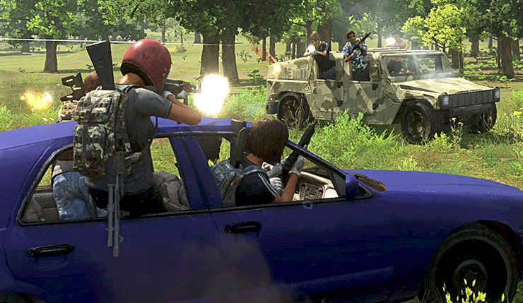 H1Z1 Escapes Early Access, Adds a New Vehicular Battle