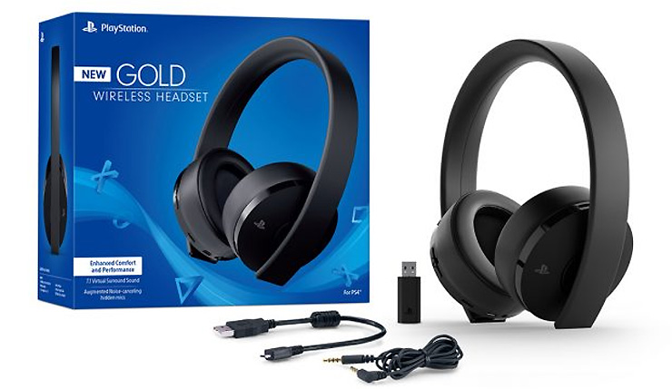 Sony Reveals Redesigned Gold Wireless Headset