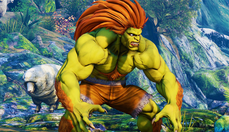 Street Fighter V Shows Off The Long Awaited Blanka In An Electric
