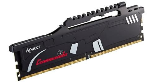 Apacer Introduces Commando Series DDR4-3600 CL17 and DDR4
