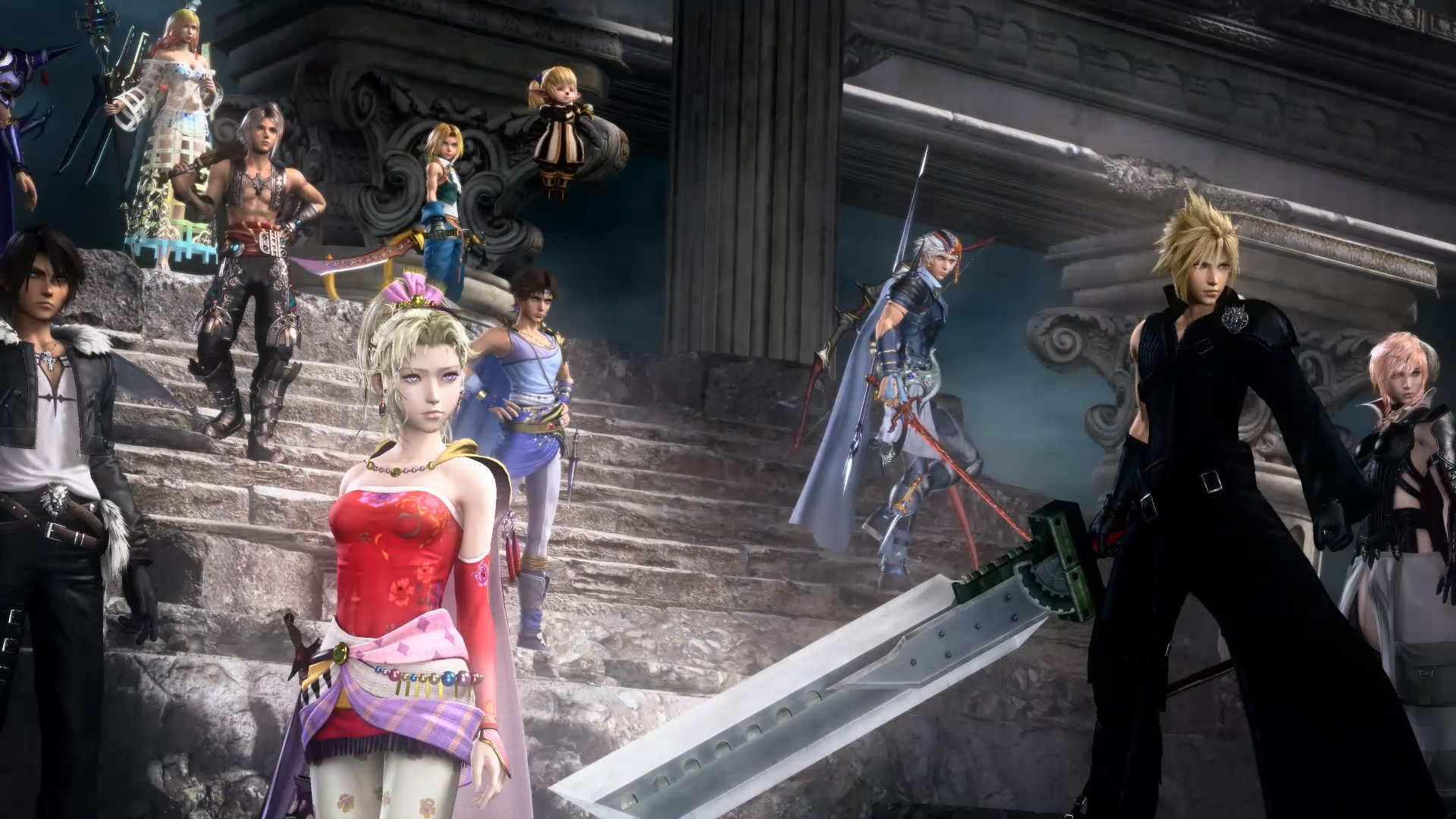 Dissidia Final Fantasy Nt Review For Hardcore Fans Only