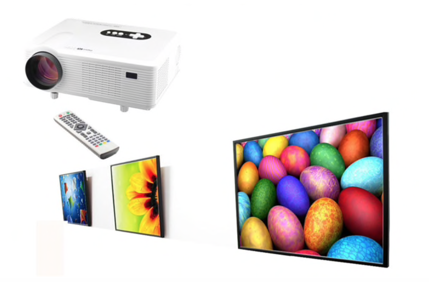 These featured projector deals bring you savings of for Pocket projector deals