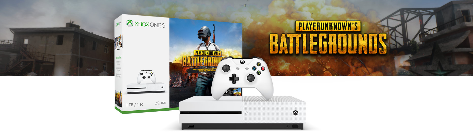 Updated Microsoft Announces Pubg Xbox One S Bundle Launches On