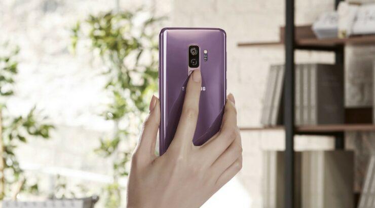 take screenshot on Galaxy S9
