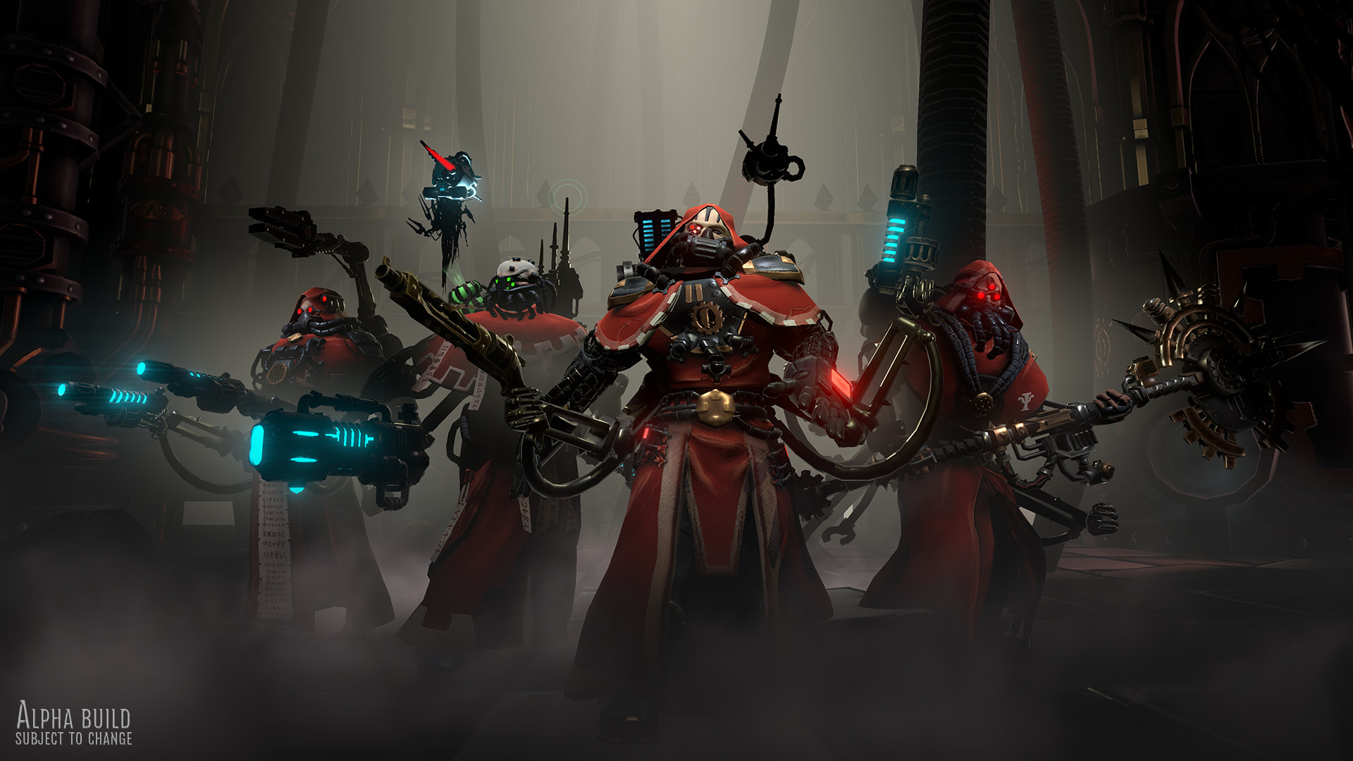 Warhammer 40,000: Mechanicus Is A New Turn-Based Tactical Game Due