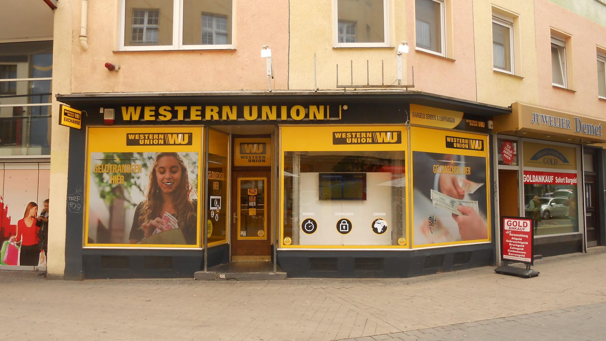 Western Union Customer Data Stolen - External Storage Firm