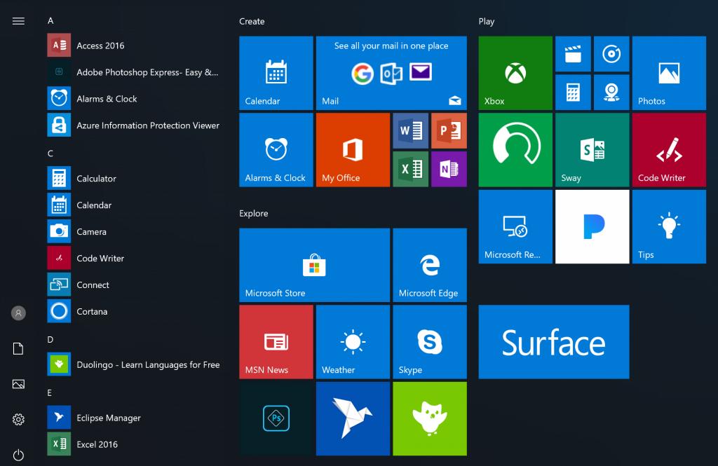Windows 10 Redstone 5 17604