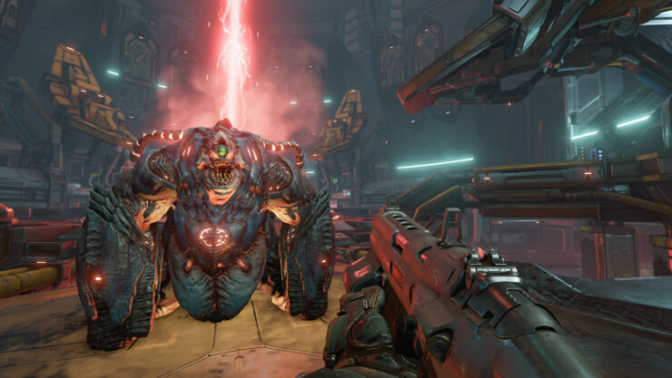 DOOM XBOX ONE X PS4 Pro 4K update