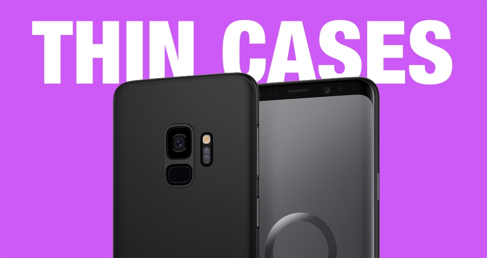 List: Best Galaxy S9 Thin Cases Available to Buy [Galaxy S9