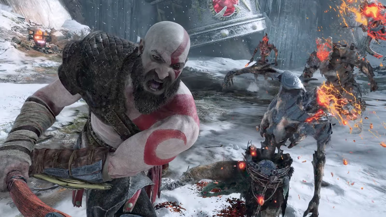 God Of War Is Shaping Up To Be One Of The Cleanest 4k