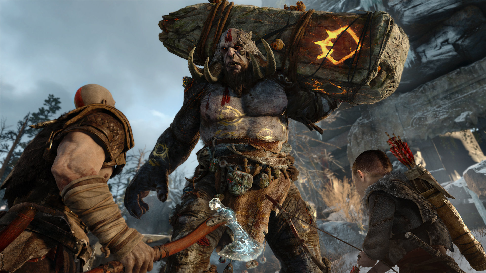 god of war features performance mode on playstation 4 pro; gets new