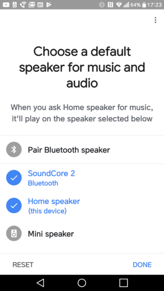 Update Allows Google Home to Be Paired With Other Bluetooth
