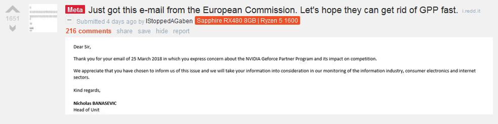 NVIDIA GPP Ignites Uproar & Calls for Boycott as AIBs Begin Signing on