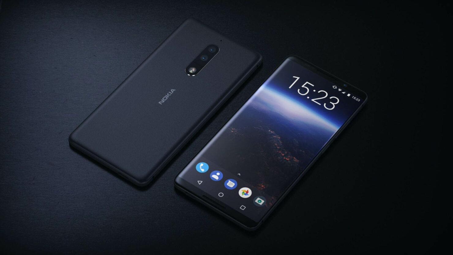 Nokia 9 in glass fingerprint reader rumor