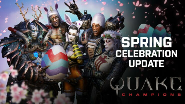 Quake Champions Update march