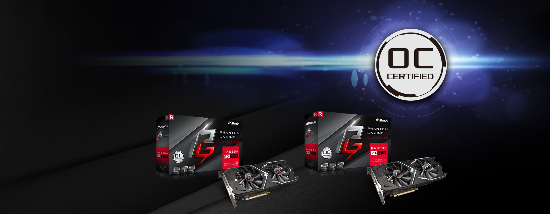 ASRock Enters Graphics Market With Radeon RX Phantom Gaming Line