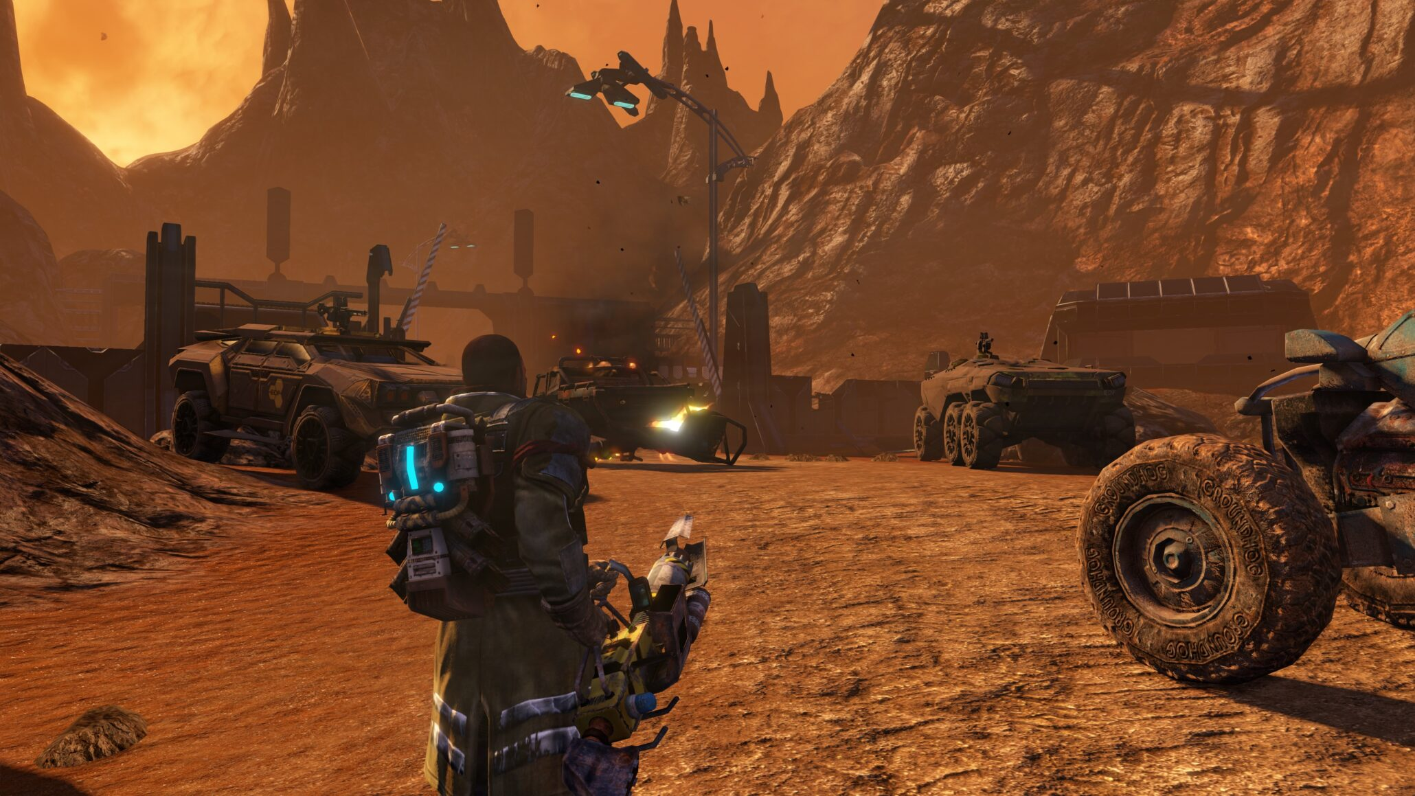 Red Faction Guerrilla Re-Mars-tered Game