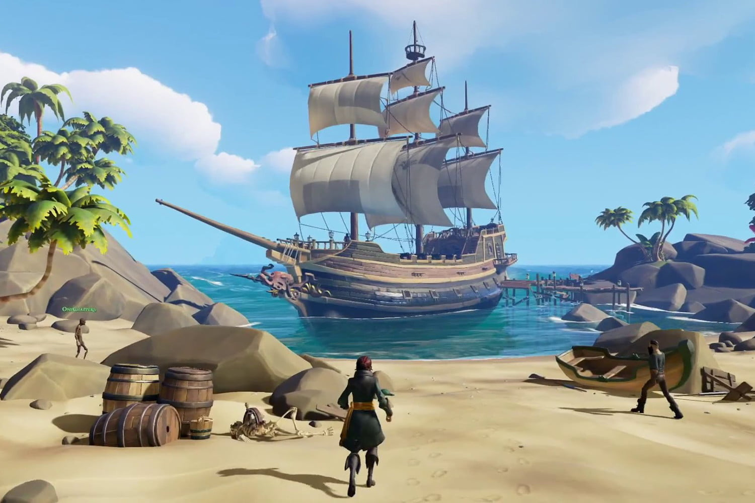 Sea Of Thieves Latest Weekly Update Adds Skeleton Ship Battles