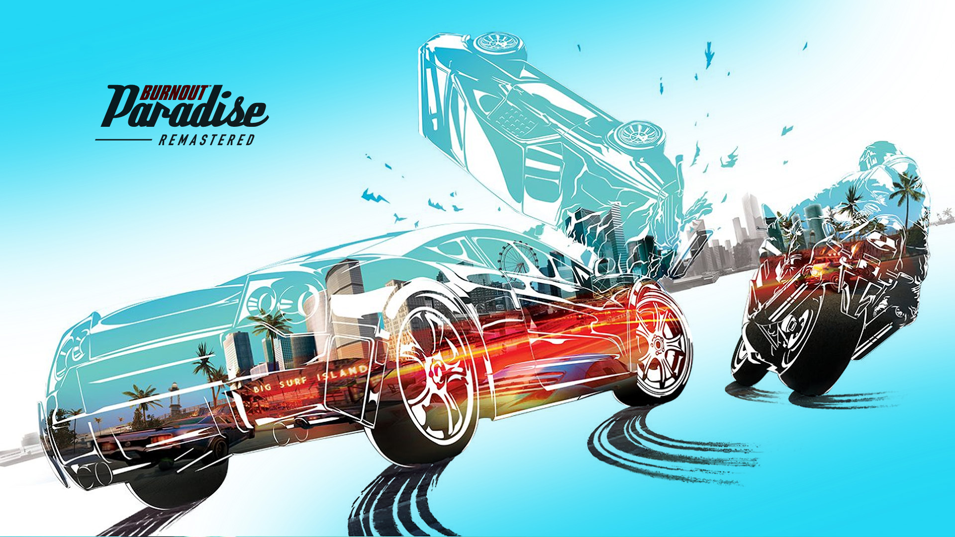burnout paradise remastered review a hot ride in need of a new gps. Black Bedroom Furniture Sets. Home Design Ideas