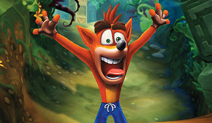 Crash Bandicoot N. Sane Trilogy PS4 patch 1.06
