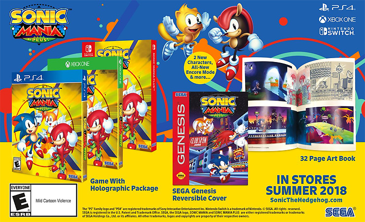 Sonic Mania Expansion Announced, New Title Teased