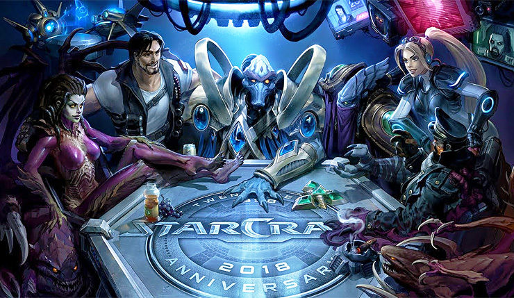 StarCraft Turns 20 This Month and All Blizzard Games Are Celebrating