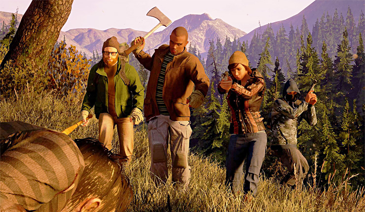 State of Decay 2 runs at 4K resolution on Xbox One X