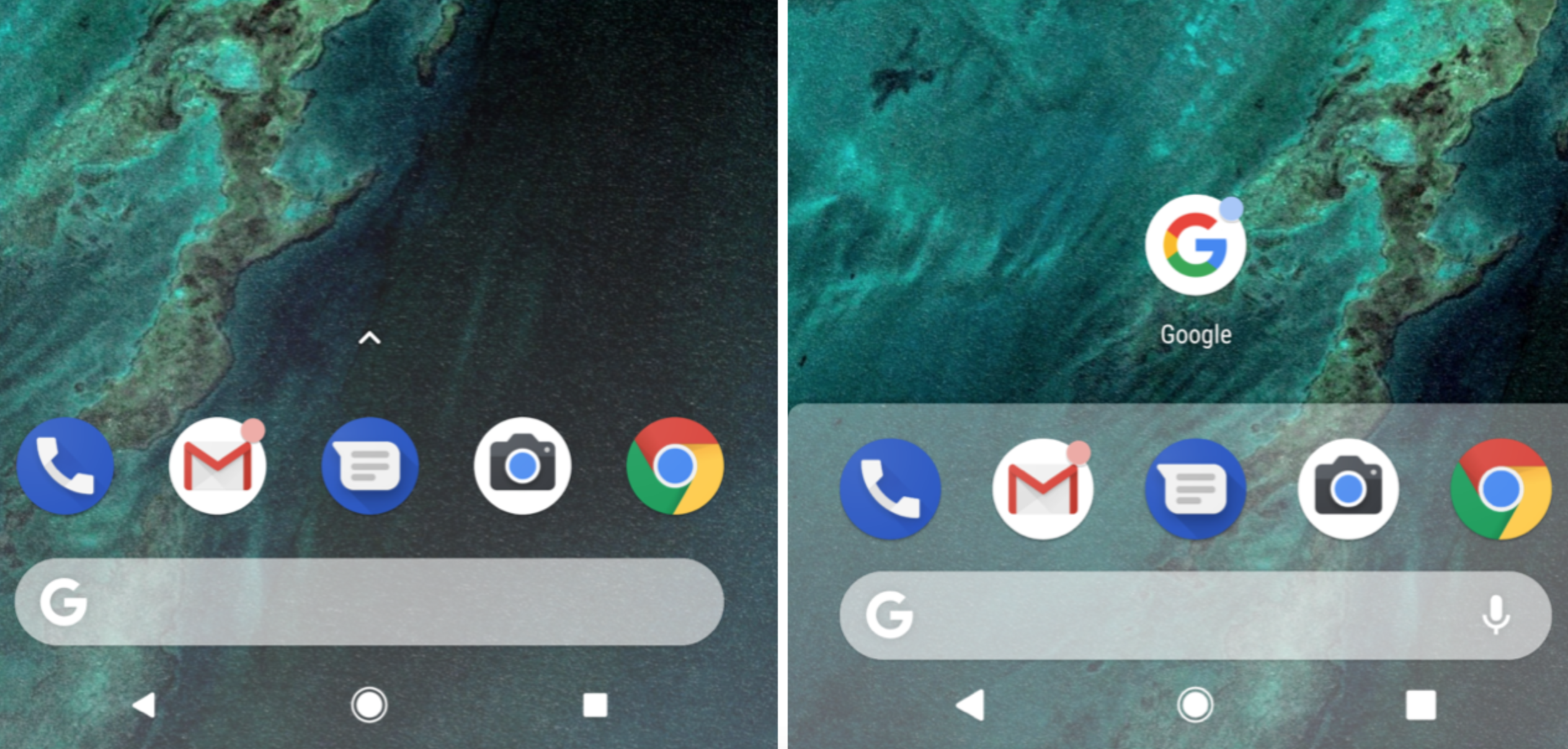 Download Android P Launcher APK - Brings Focus Back to the Dock!