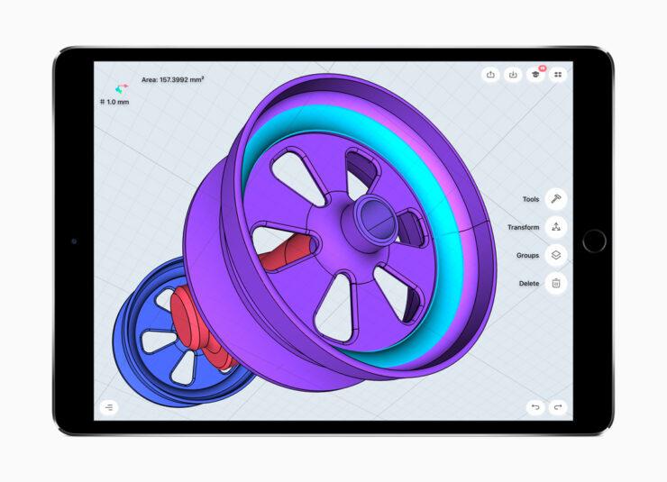 iPad cheaper model 3D sensing module