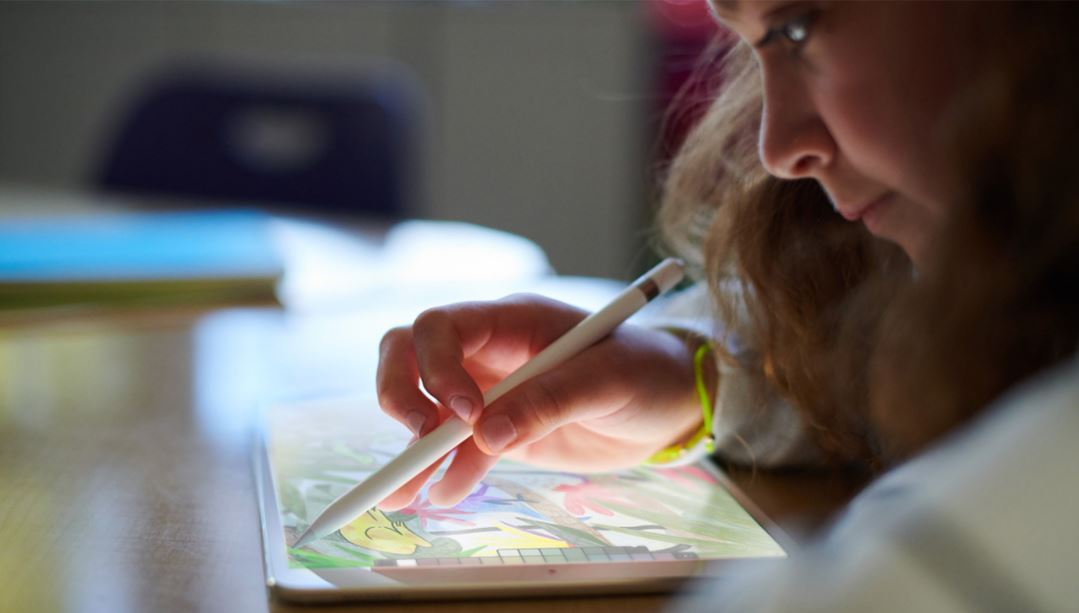 how to use apple pencil in keynote